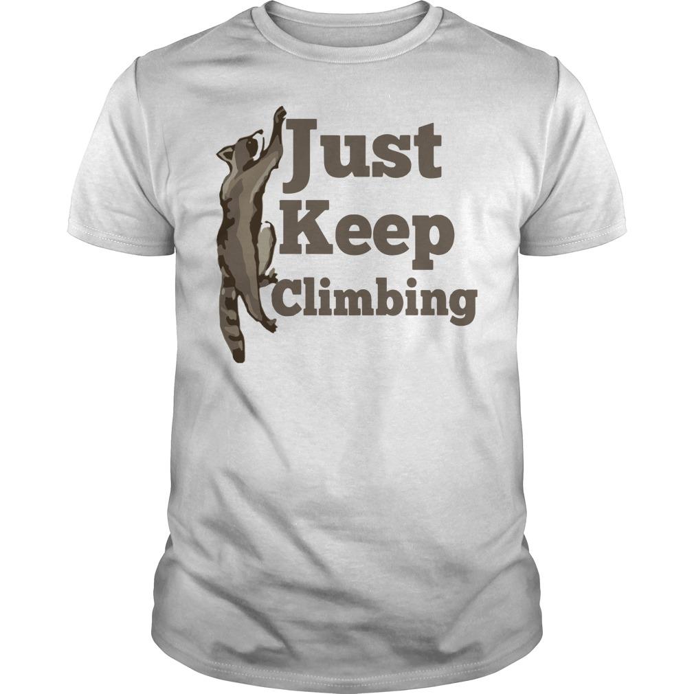 Fox Just keep climbing shirt