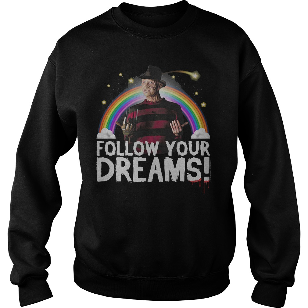 Freddy Krueger: Follow your dreams sweater