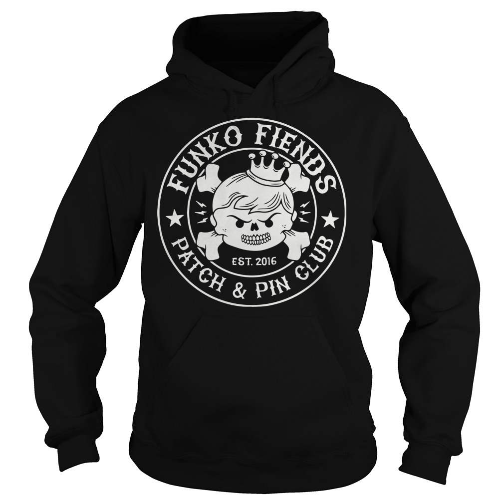 Funko fiends patch and pin club hoodie