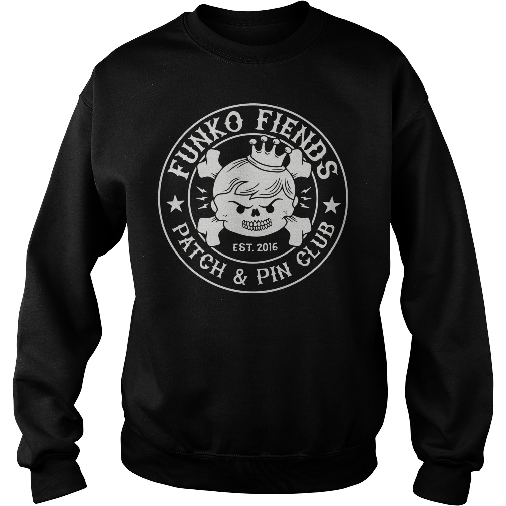 Funko fiends patch and pin club sweater
