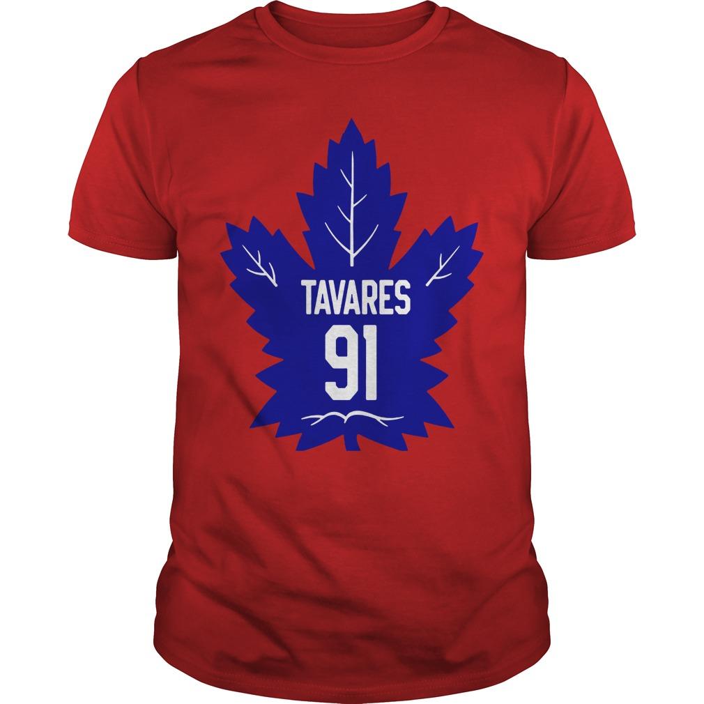 John Tavares 91 shirt