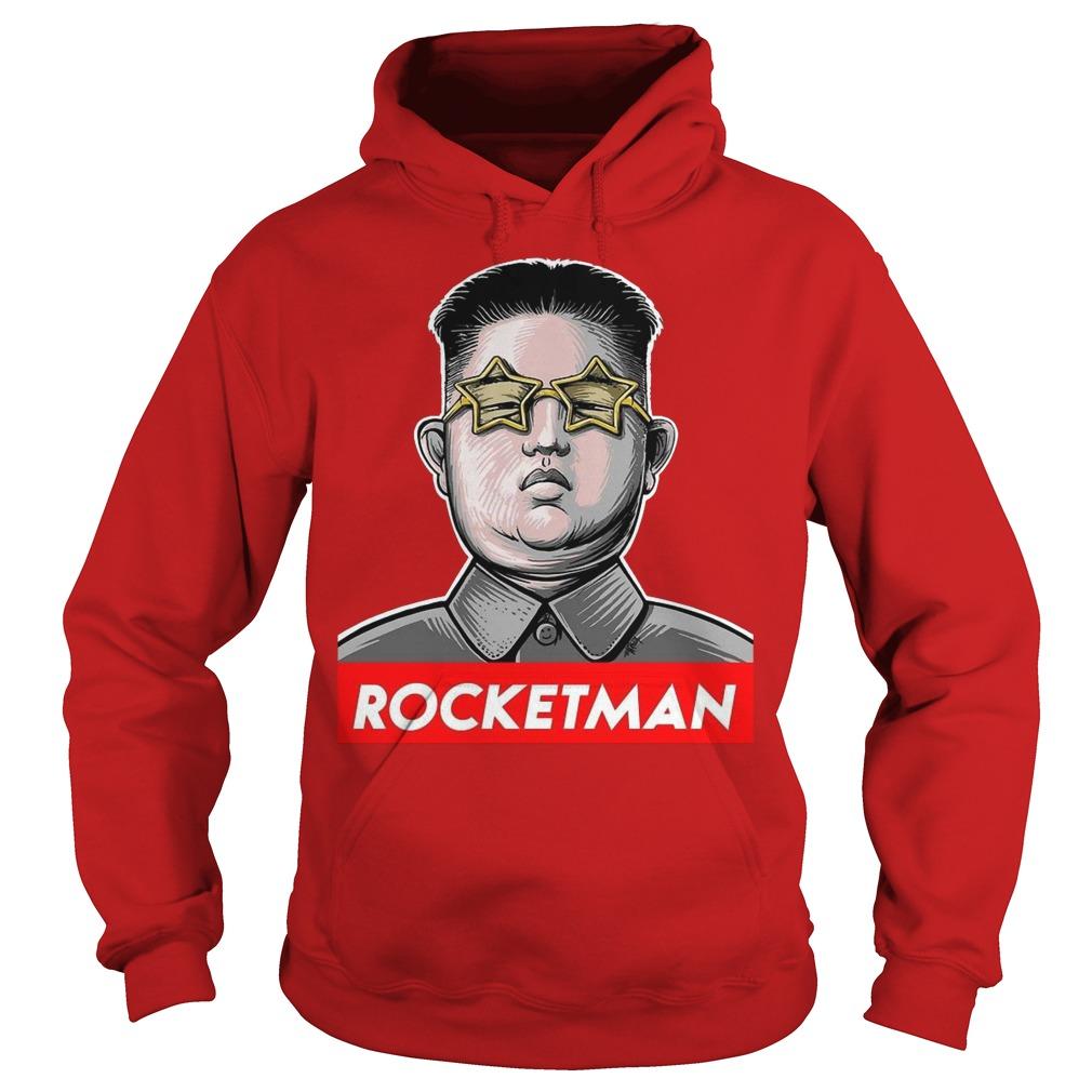 Kim Jong Un rocketman hoddie