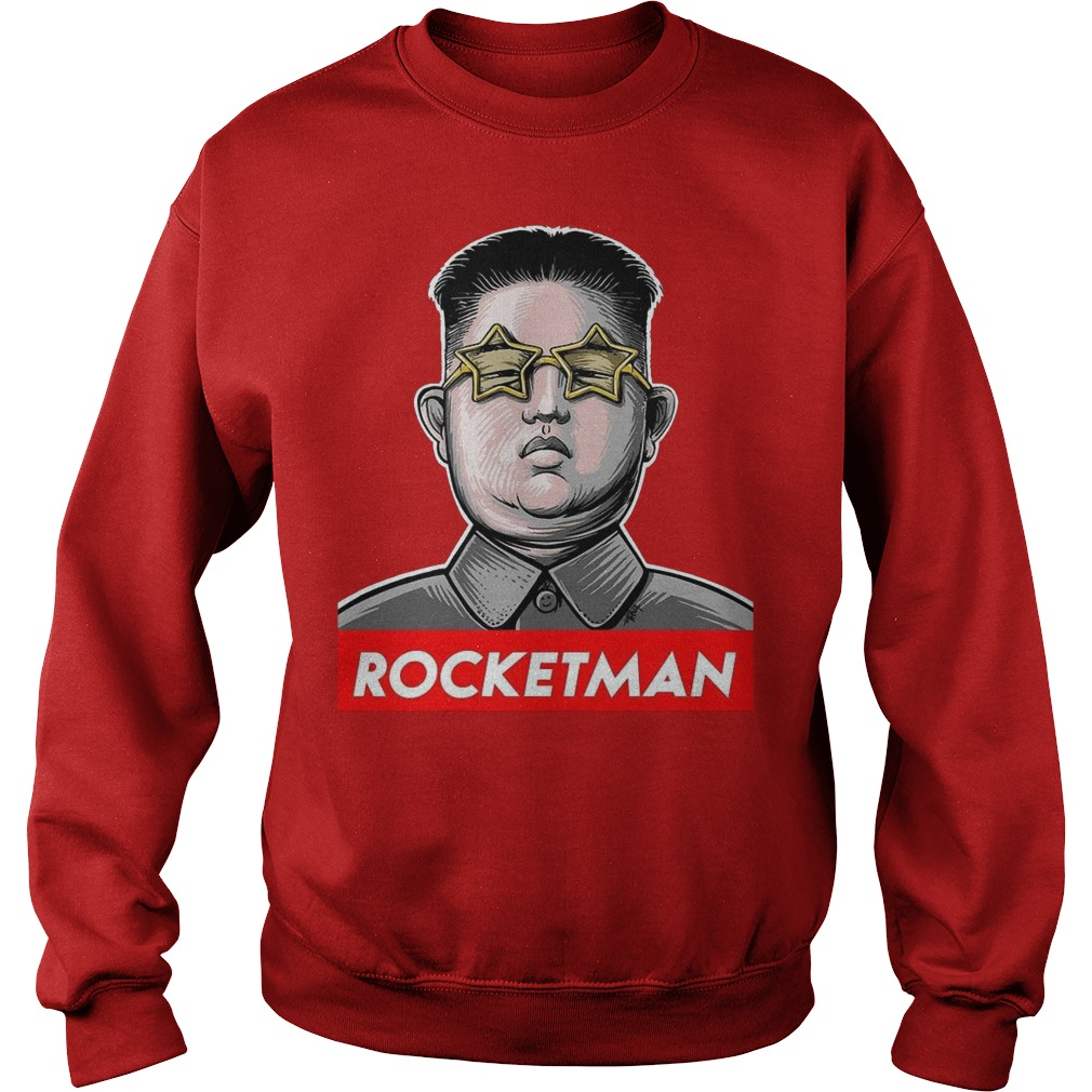Kim Jong Un rocketman sweater