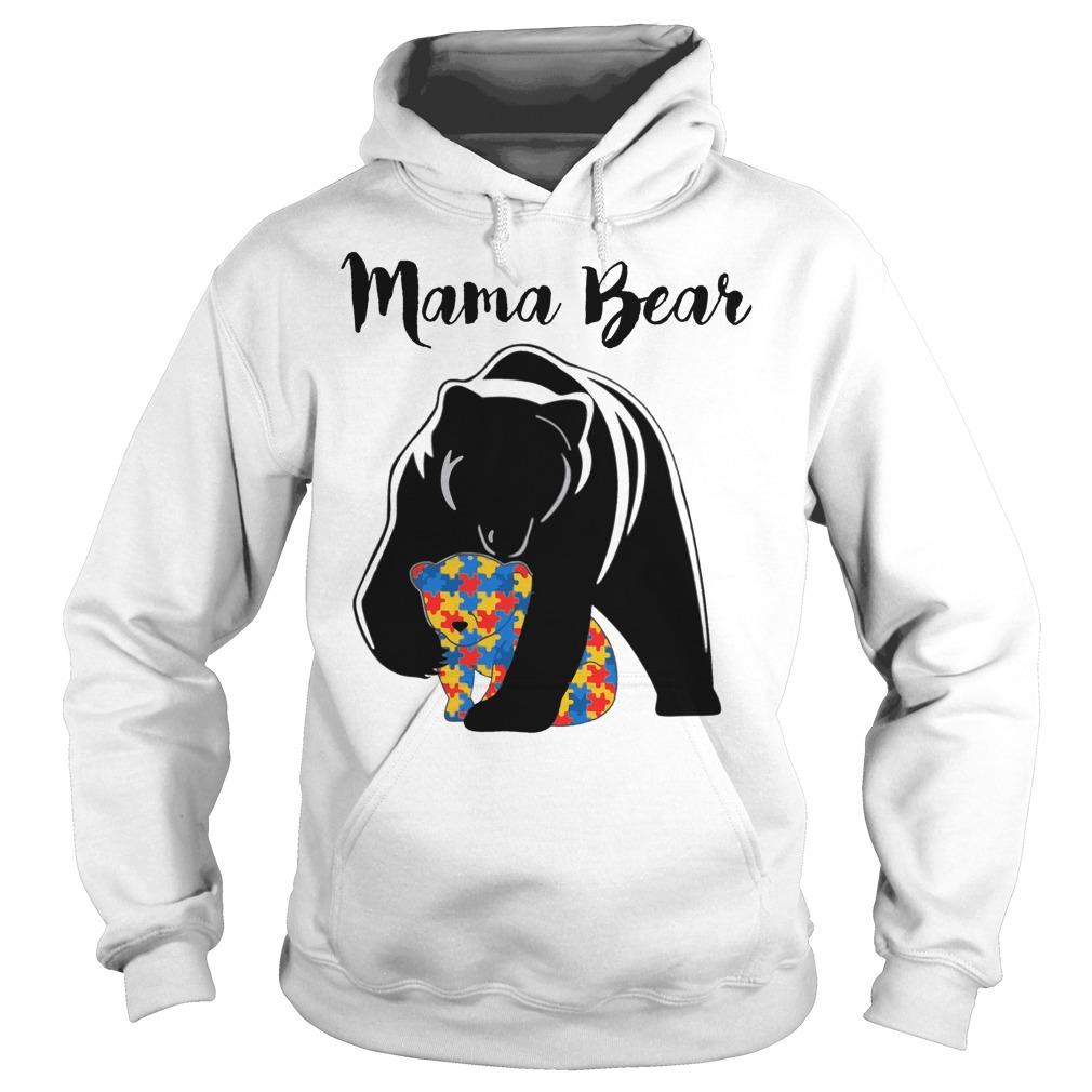 Mama Bear Autism hoodie