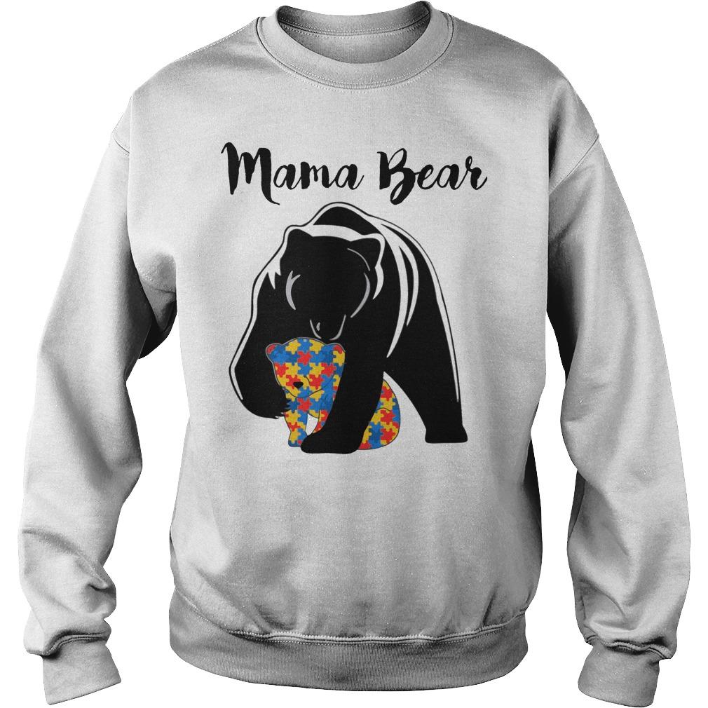 Mama Bear Autism sweater