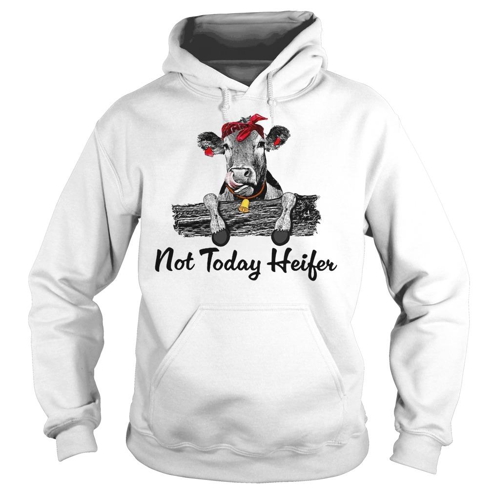Not today heifer hoodie