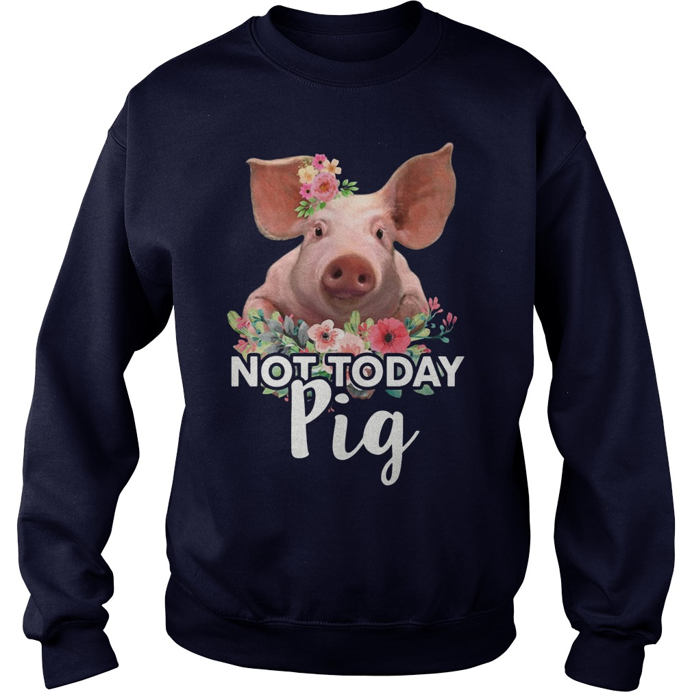 Pig not today sweater