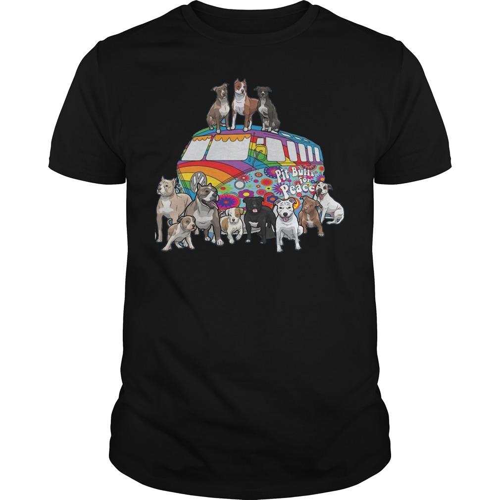 Pitbull for peace shirt