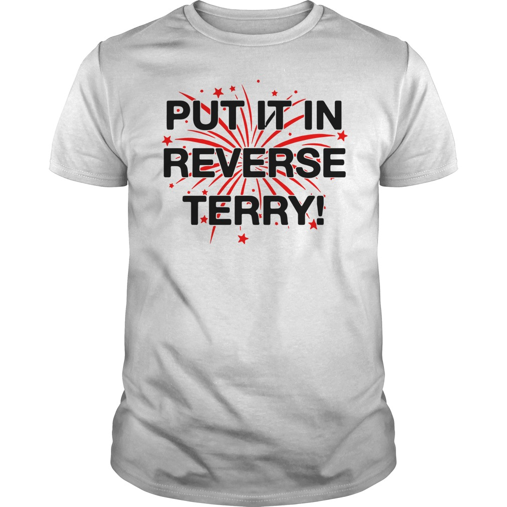 Put it in reverse terry shirt