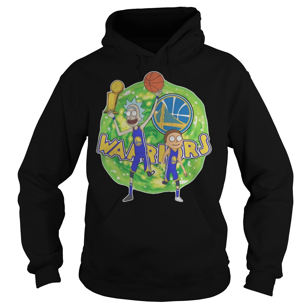 Rick And Morty Warrior Golden State Warriors hoodie