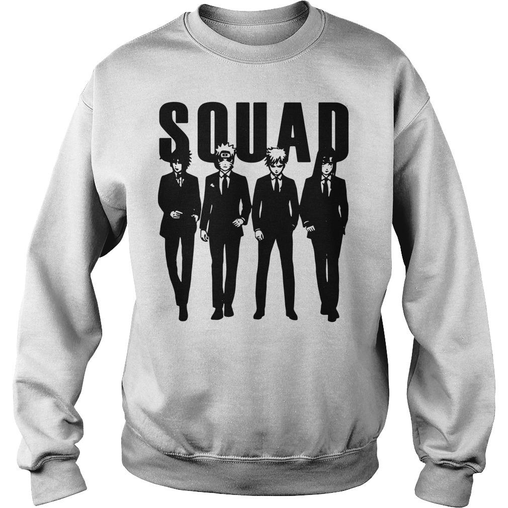 Squad Sasuke and Naruto and Gaara and Yoga sweater