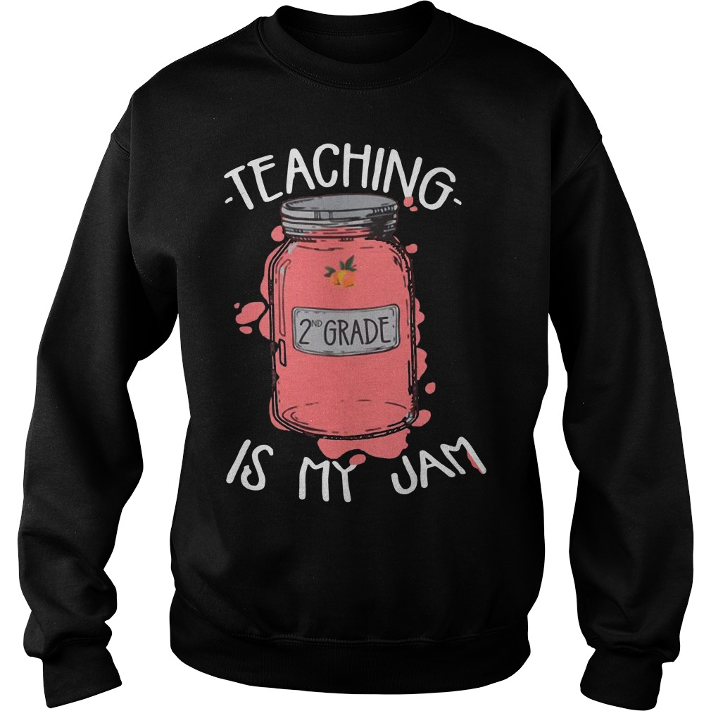 Teaching 2nd grade is my jam sweater
