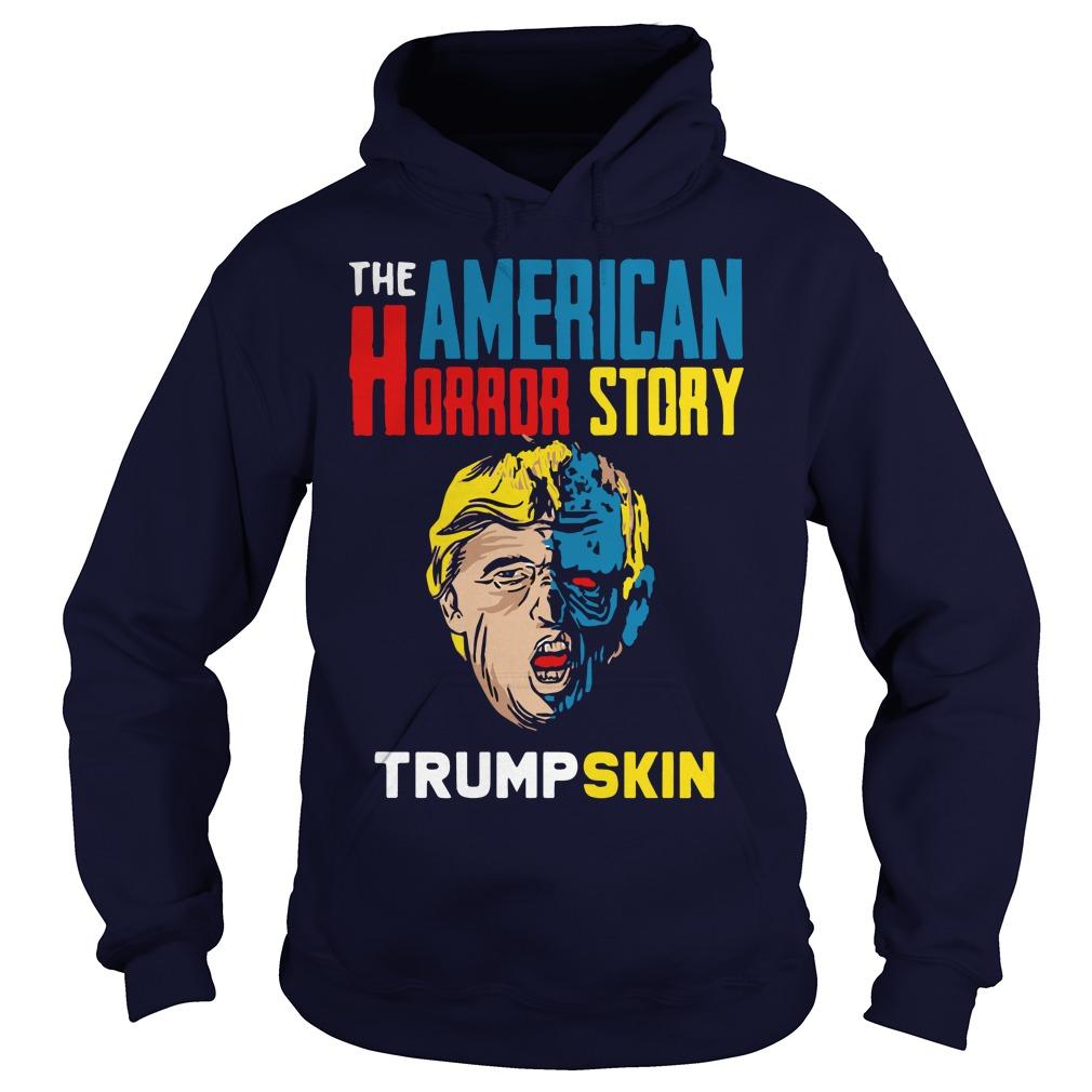 The American horror story Trump skin hoodie