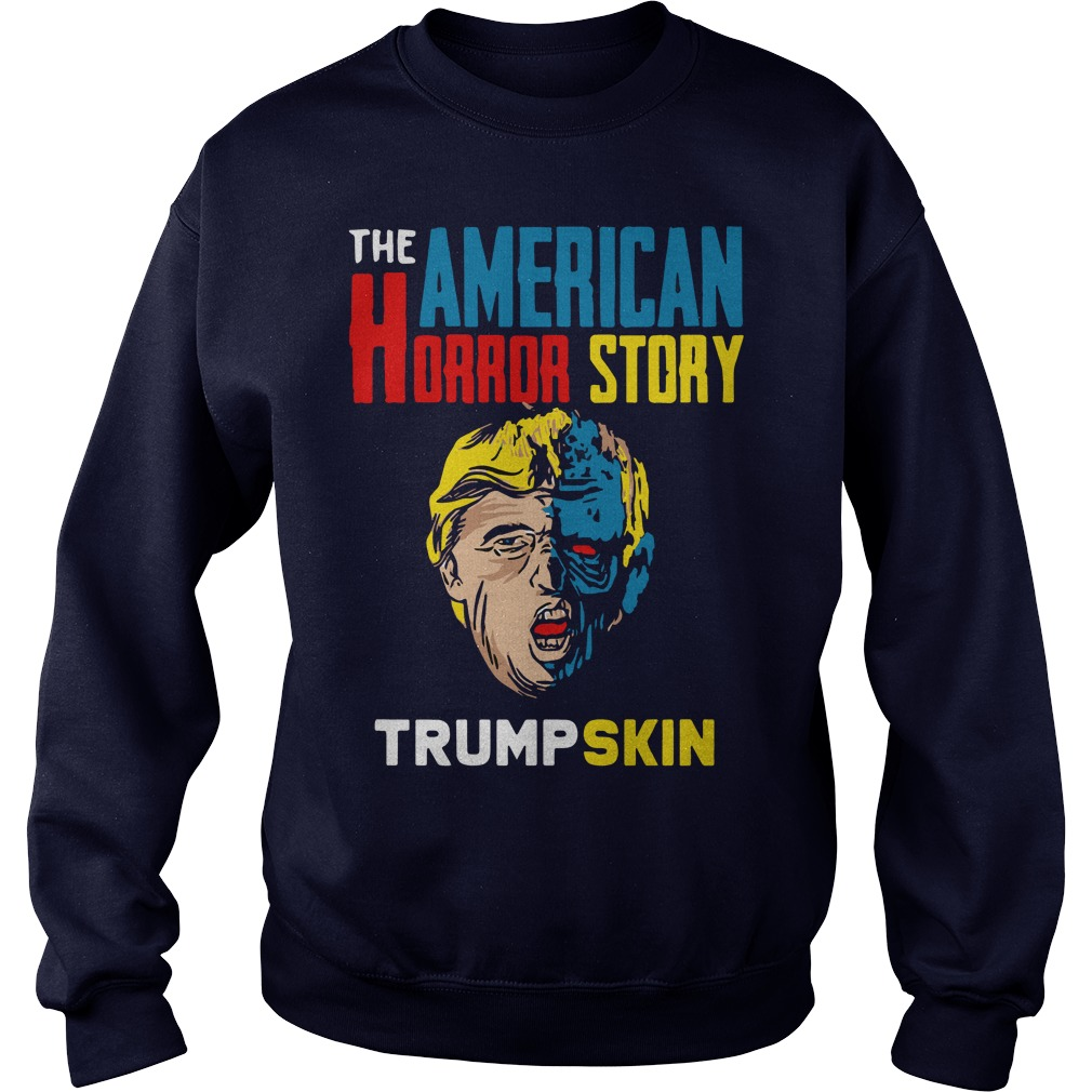 The American horror story Trump skin sweater