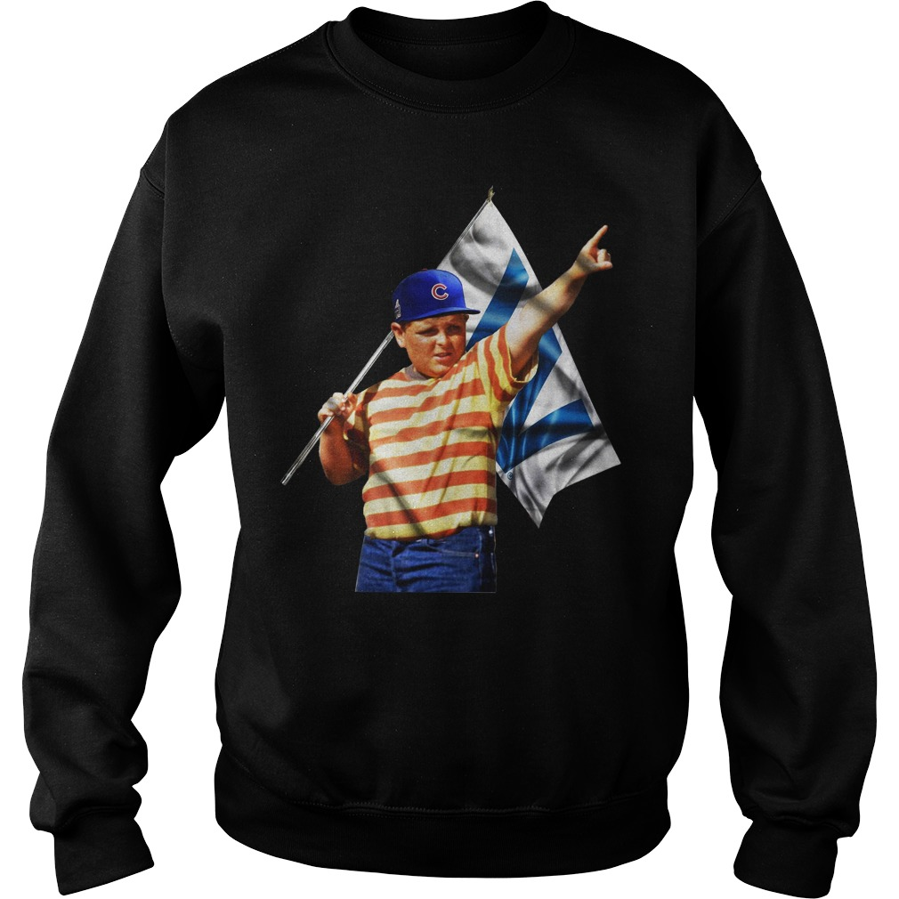 The Sandlot Chicago Cubs sweater
