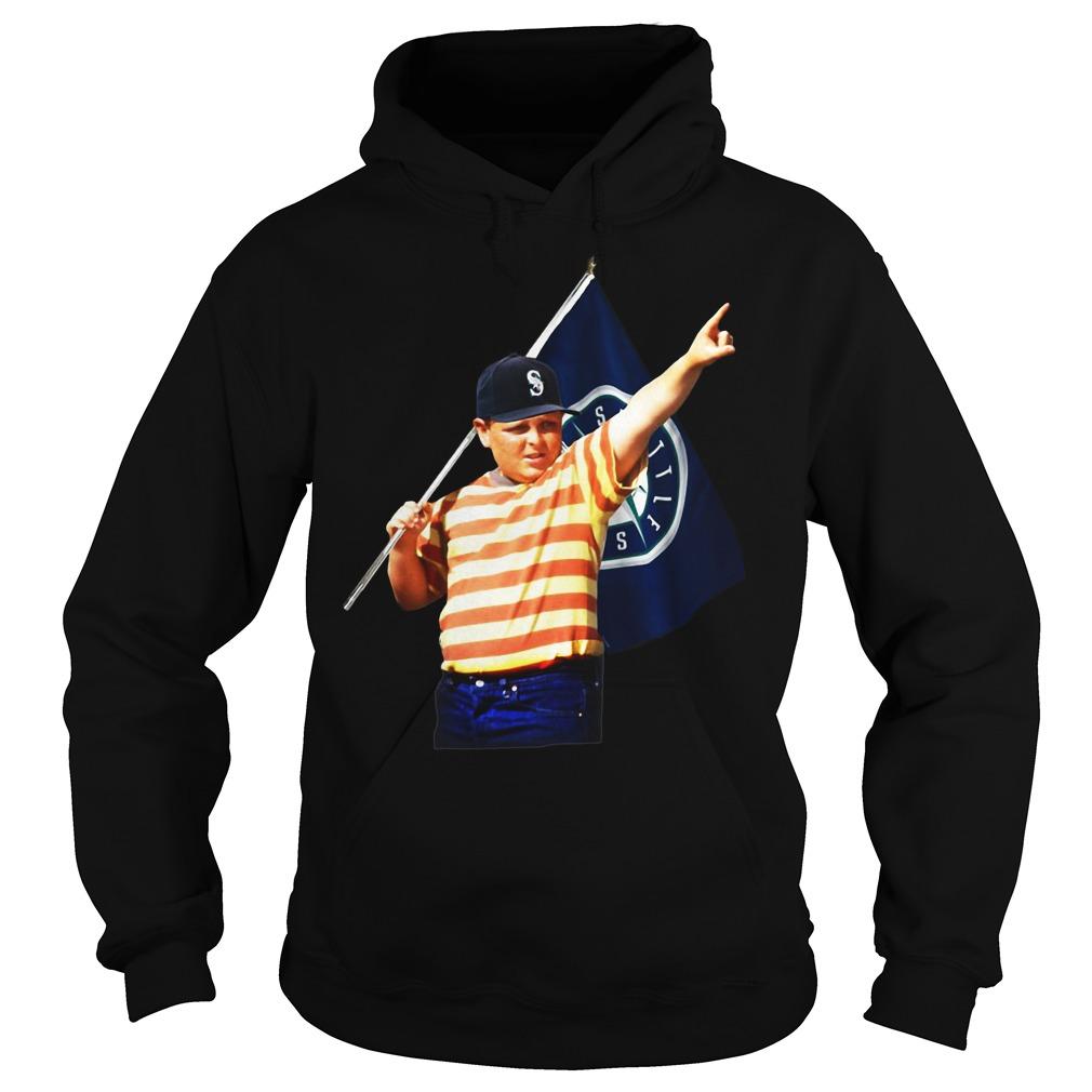 The Sandlot Seattle SuperSonics hoodie