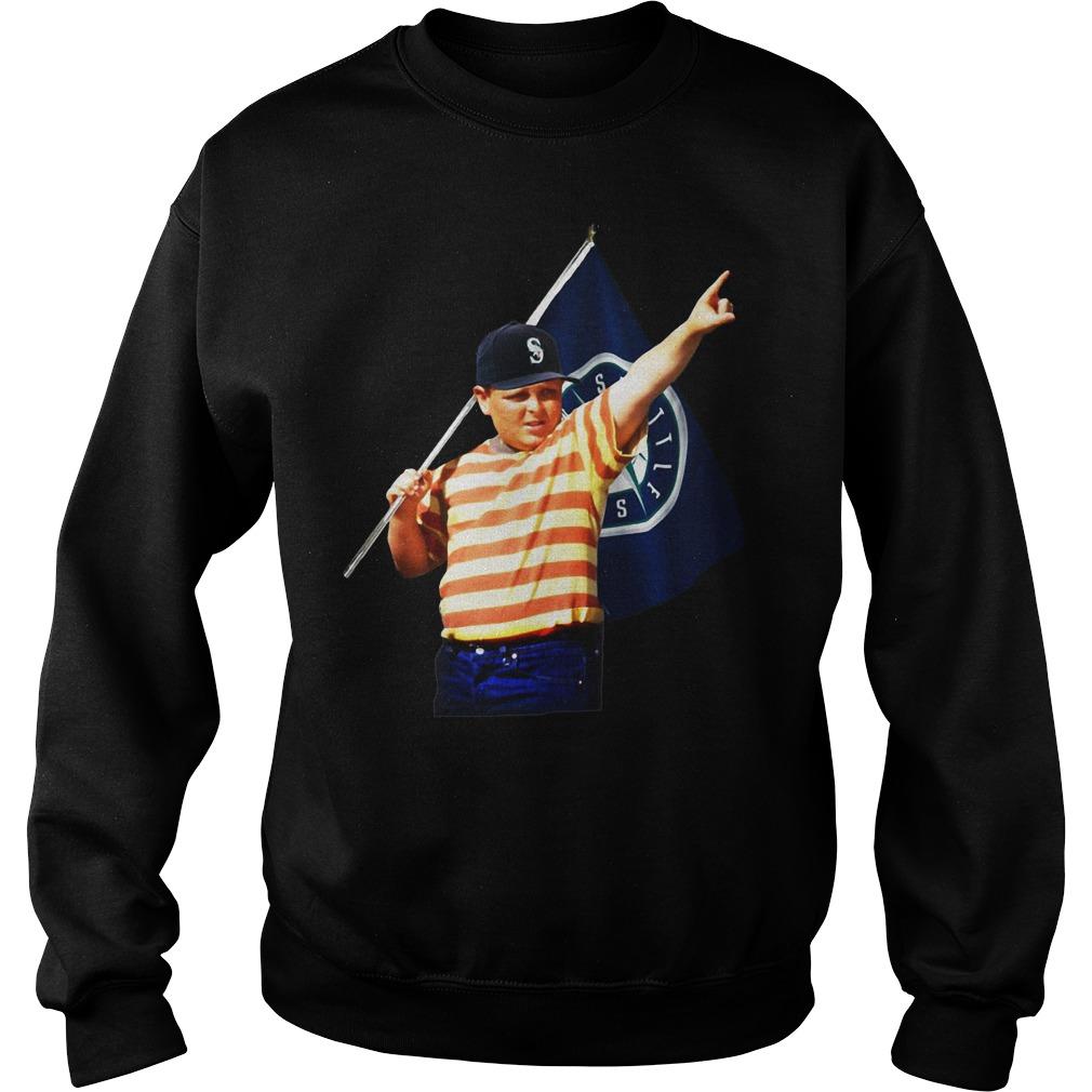 The Sandlot Seattle SuperSonics sweater