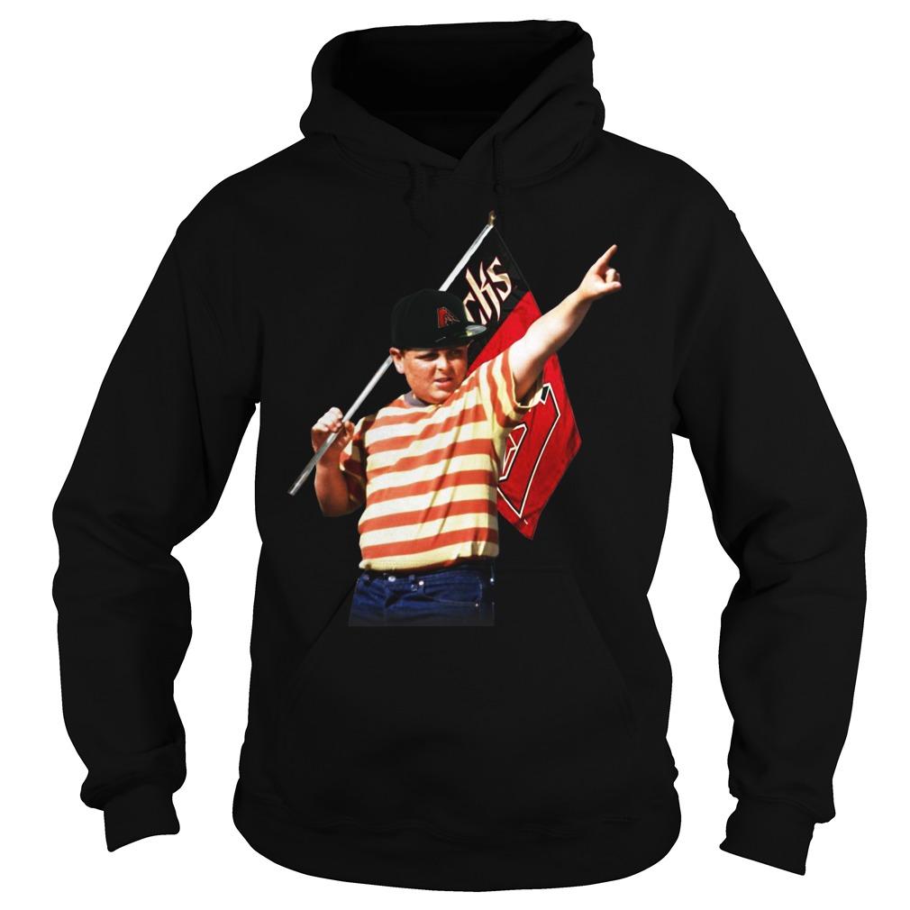 The Sandlot hold Arizona flag hoodie