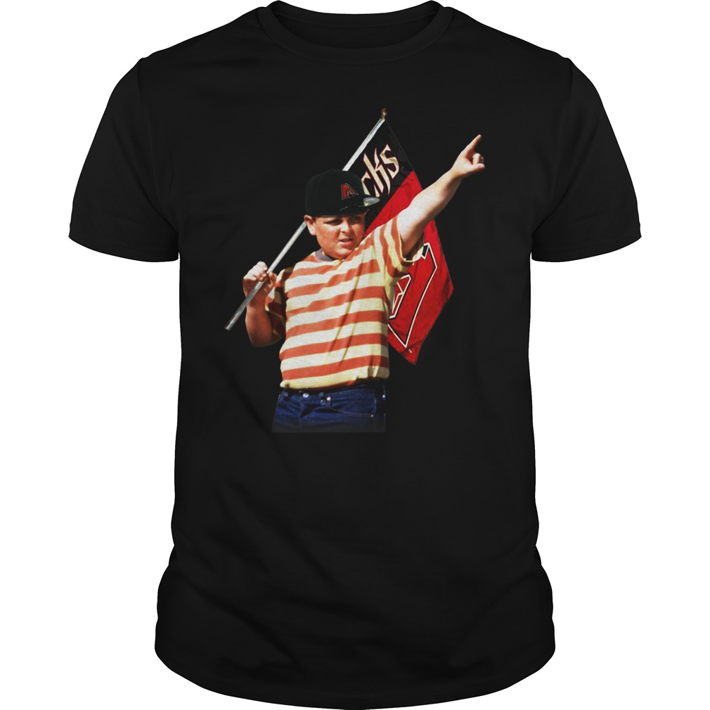 The Sandlot hold Arizona flag shirt