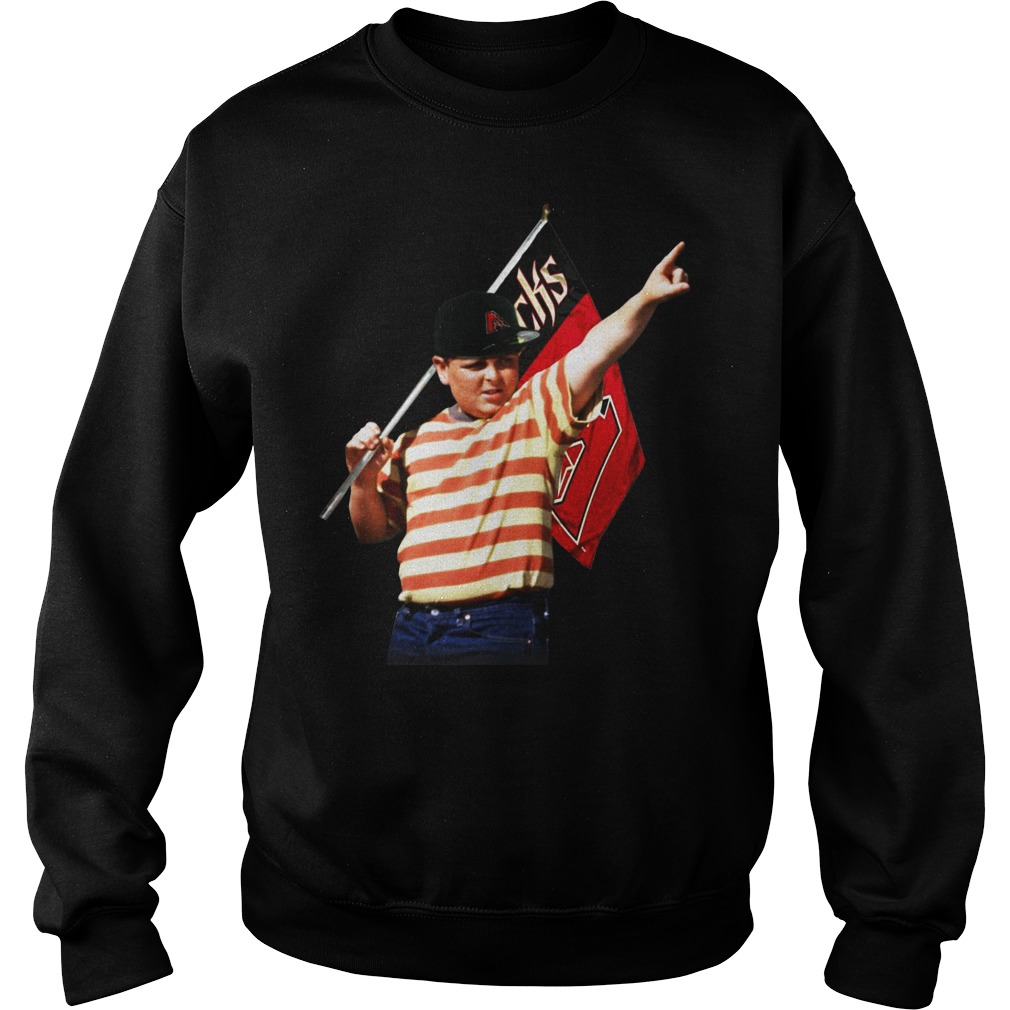 The Sandlot hold Arizona flag sweater