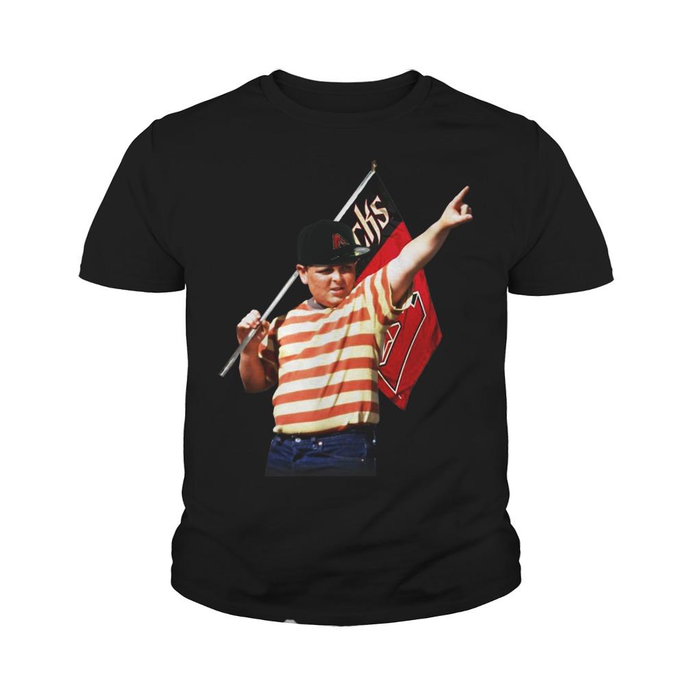 The Sandlot hold Arizona flag youth shirt