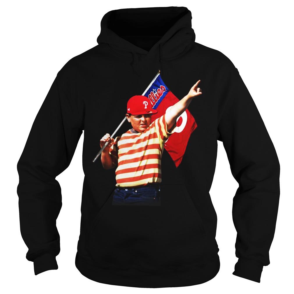 The Sandlot hold Philadelphia flag hoodie