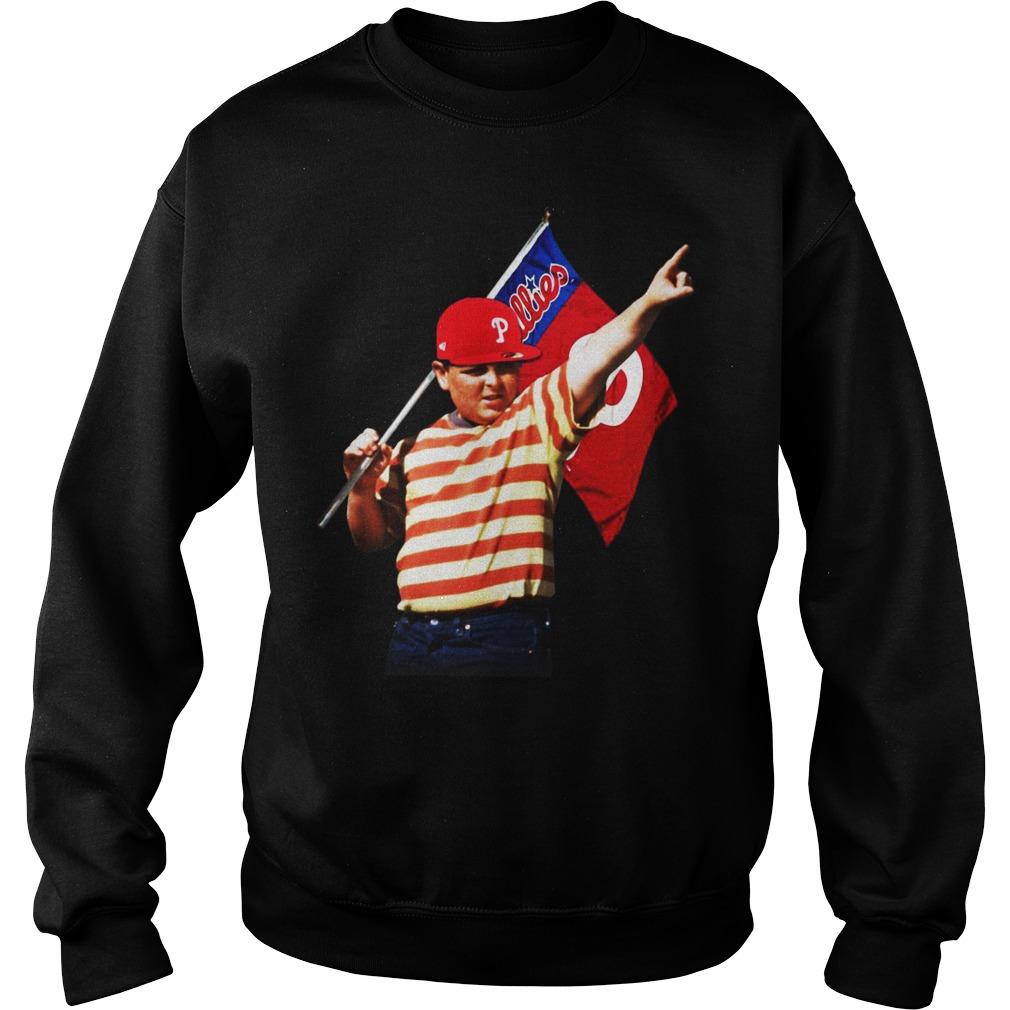 The Sandlot hold Philadelphia flag sweater