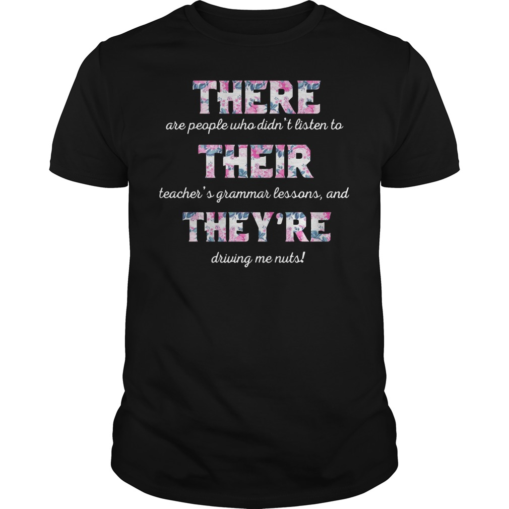 There are people who didn't listen to their teachers grandma lesson shirt