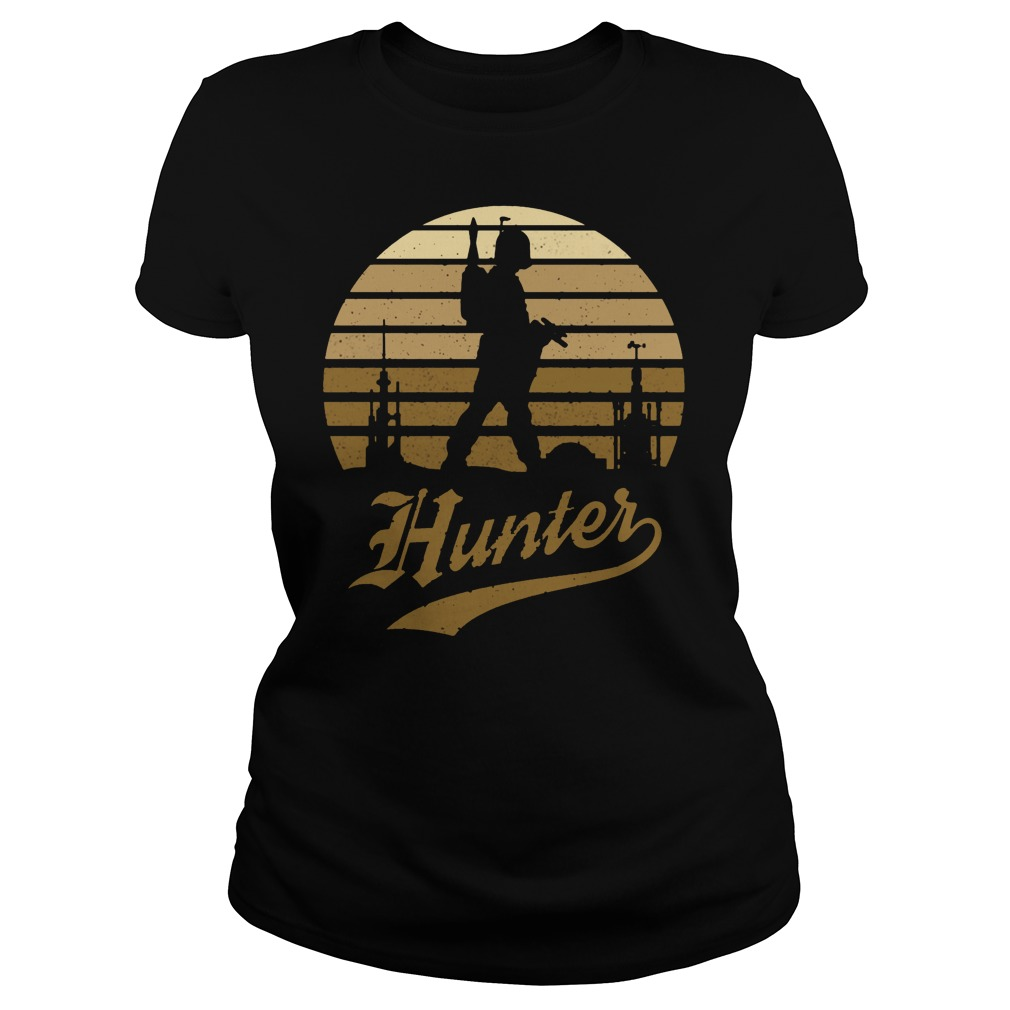 Warrior hunte ladies shirt