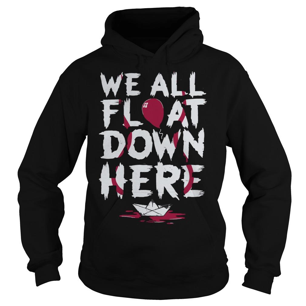 We all float down here hoodie