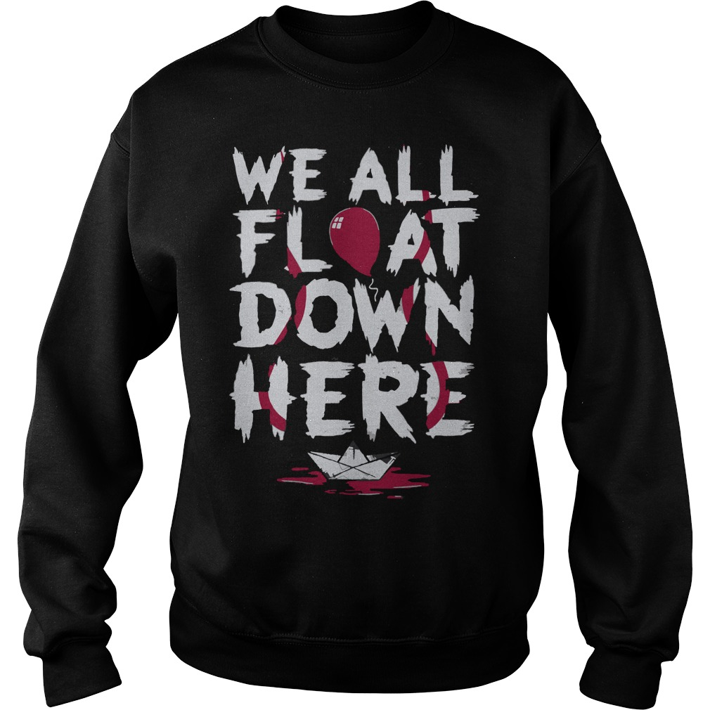 We all float down here sweater