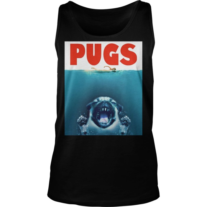 A Pugs Jaws Shark tank top