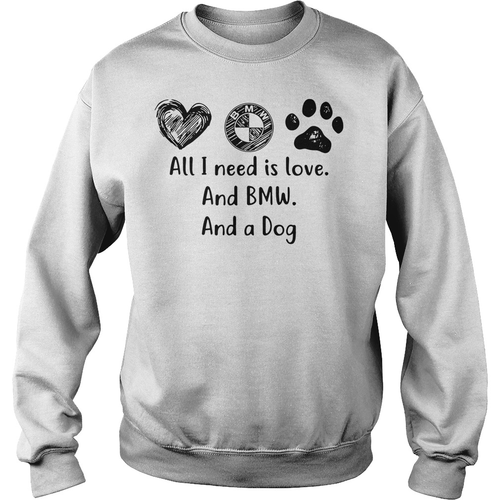 All I need is love and BMW and a dog sweater