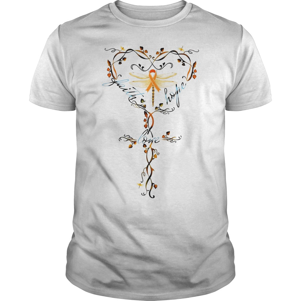 Butterfly Cancer Faith hope love shirt Butterfly Cancer Faith hope love shirt