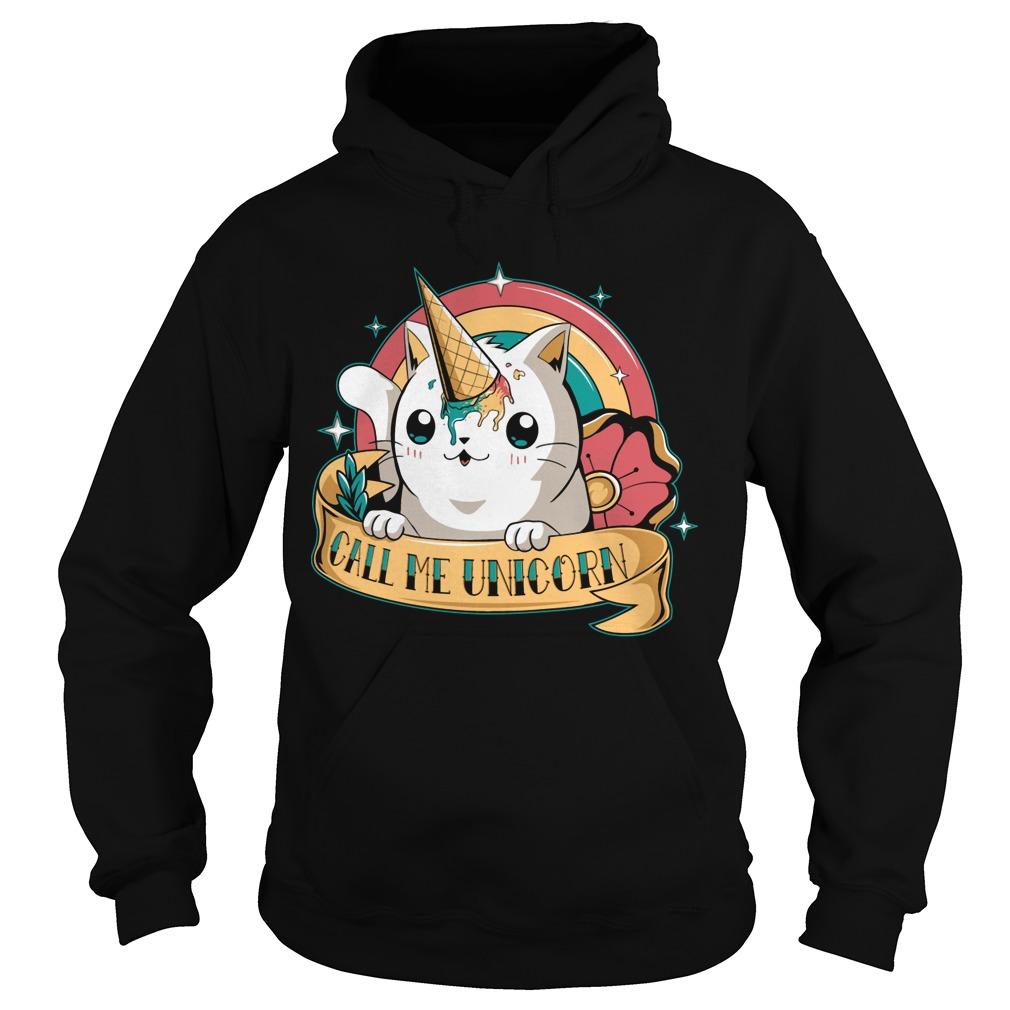 Call me Unicorn hoodie