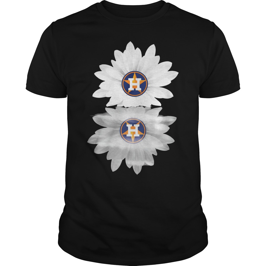 Daisy flower Houston Astro shirt