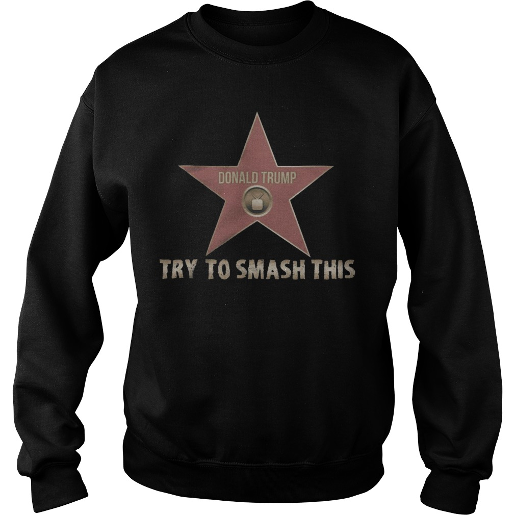 Donald Trump try to smash this sweater