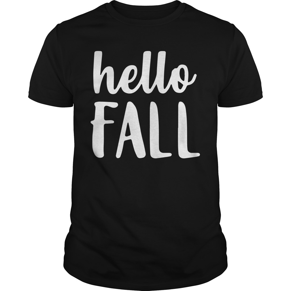 Hello Fall Shirt