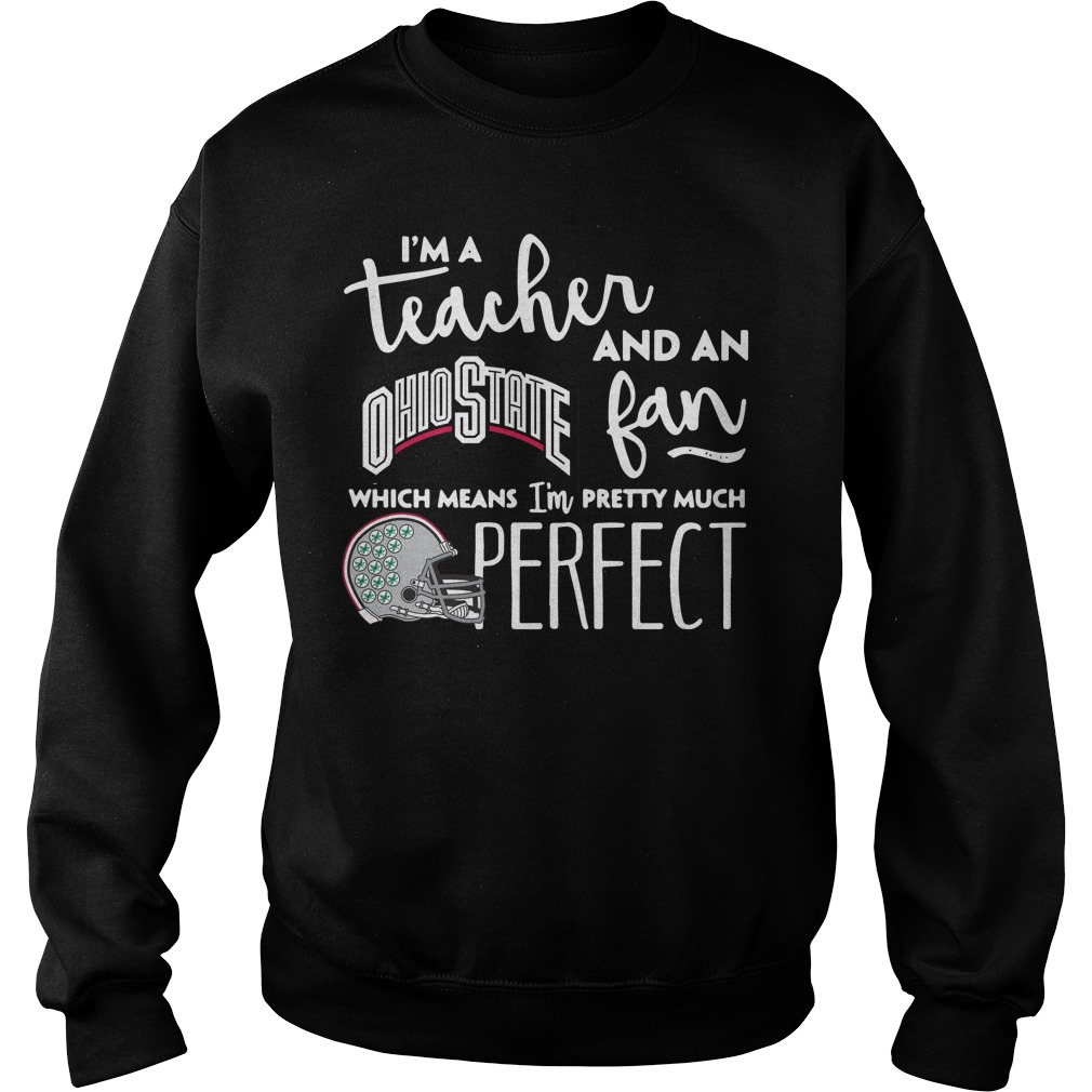 I'm a teacher and an Ohio State fan which means I'm pretty much perfect sweater