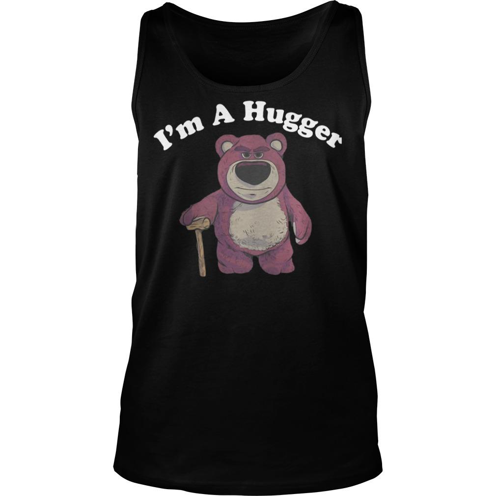 Lotso Huggin Bear I'm a Hugger tank top