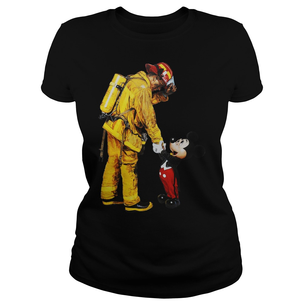 Mickey And The Bravest Ladies Shirt