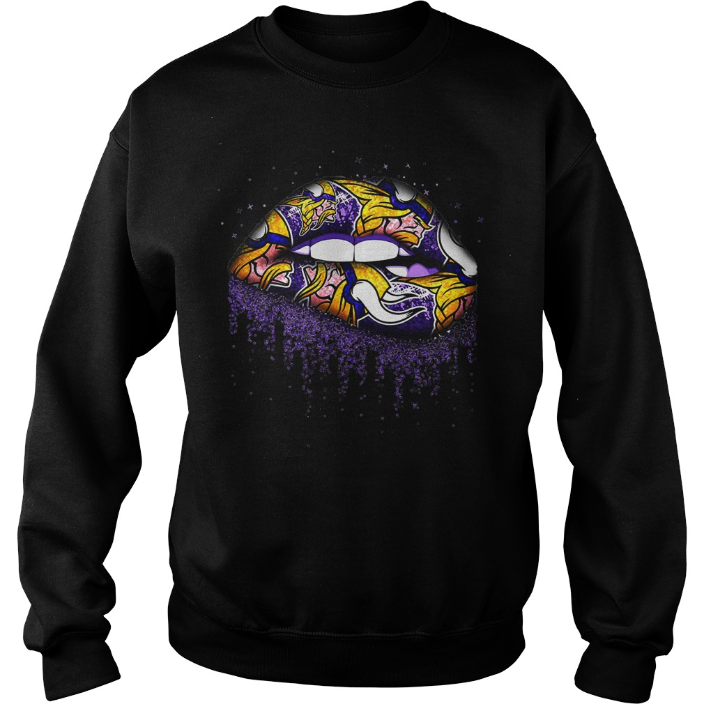 Minnesota Vikings Lips sweater