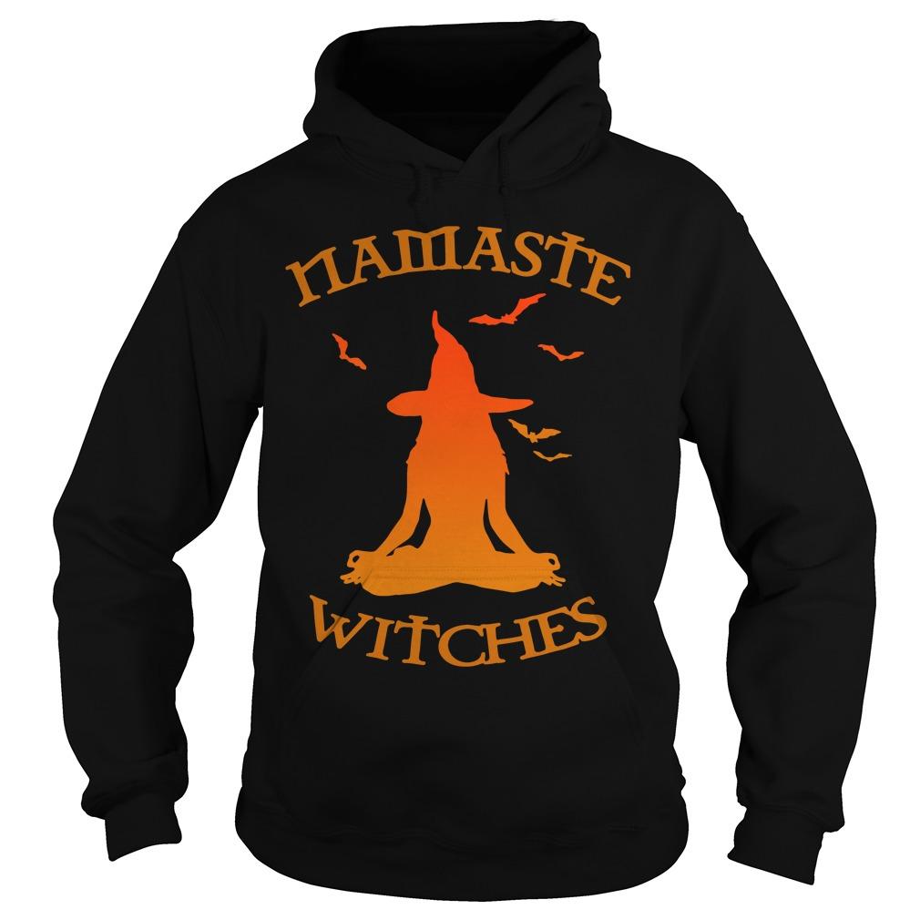 Namaste witches Yoga hoodie