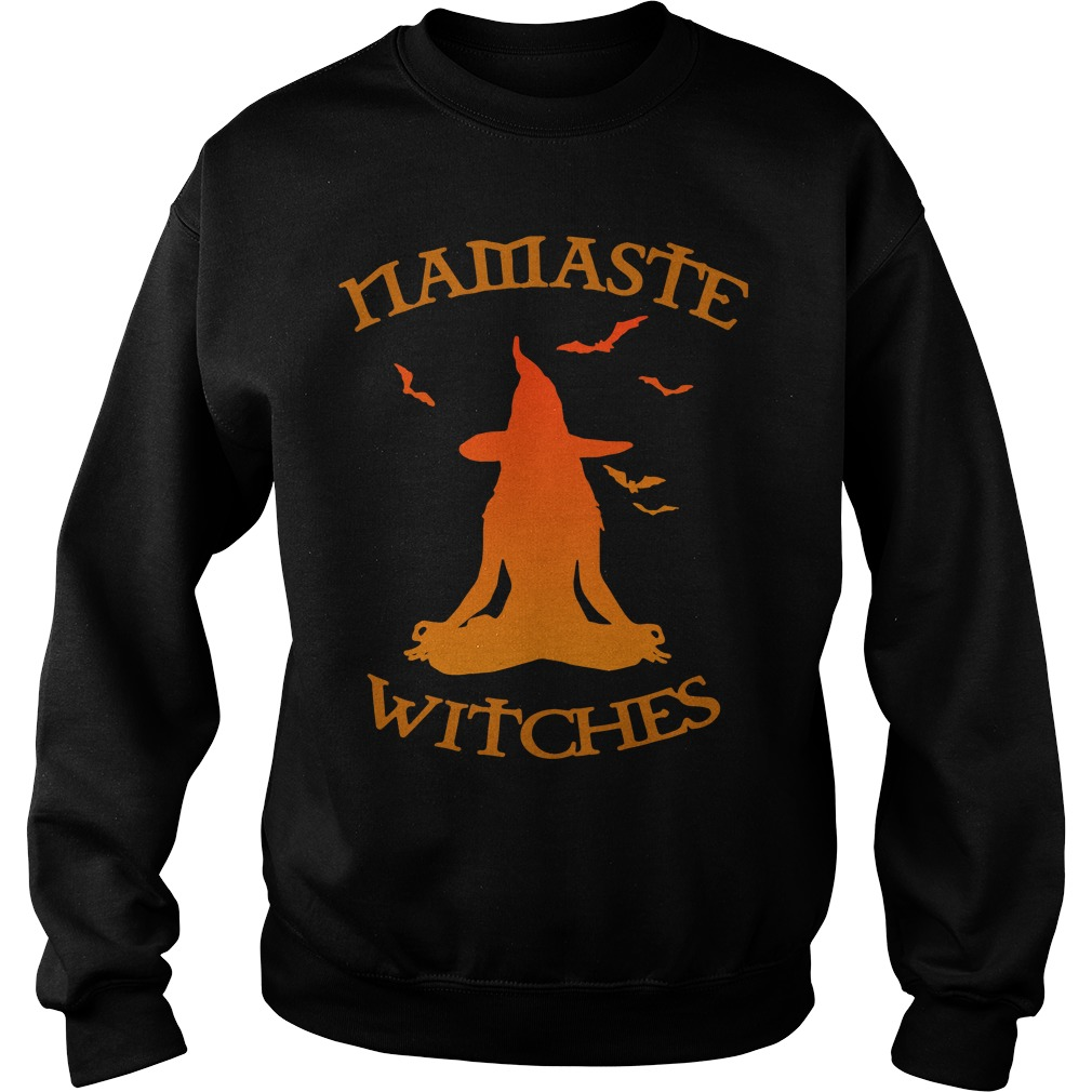 Namaste witches Yoga sweater