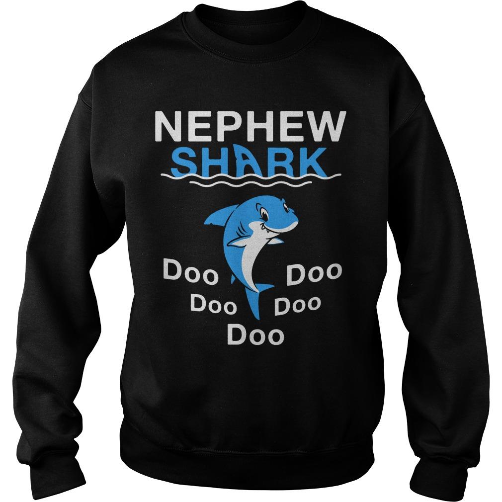 Nephew Shark Doo Doo Doo Doo Doo sweater