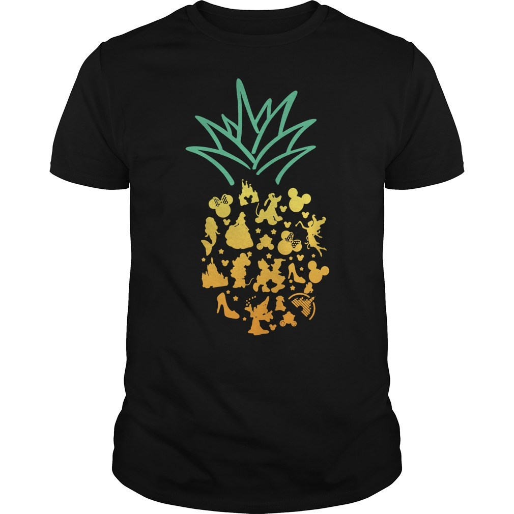 Pineapple Disney shirt