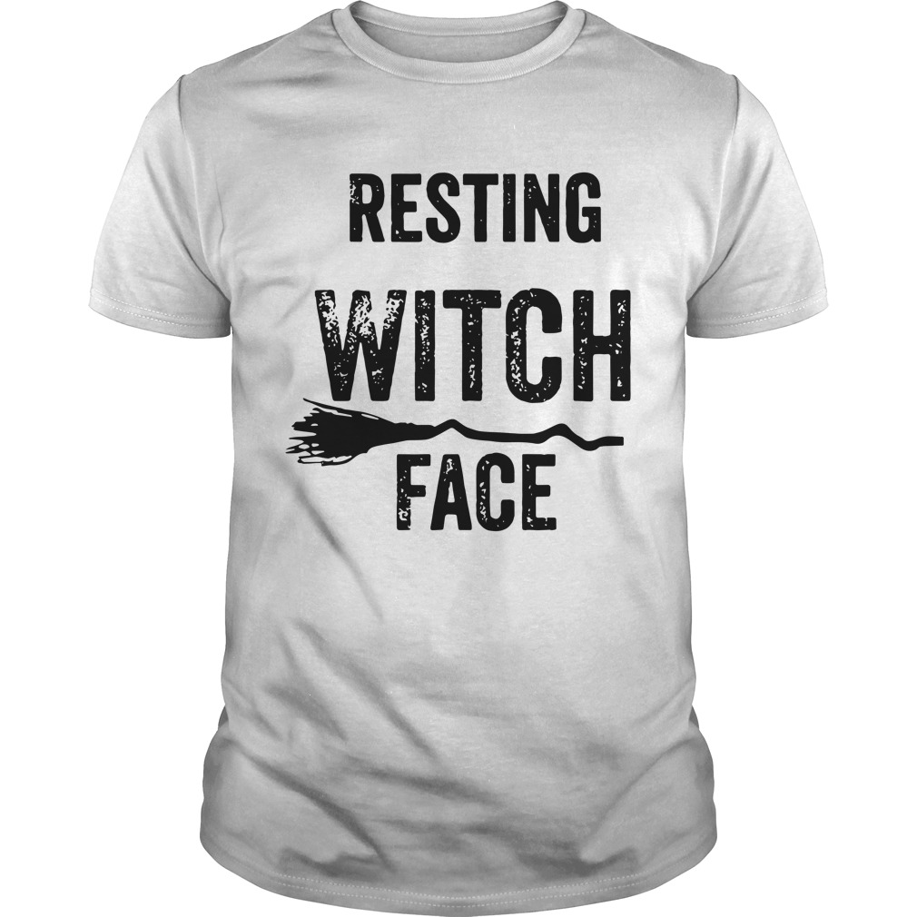 Resting Witch Face Halloween Shirt
