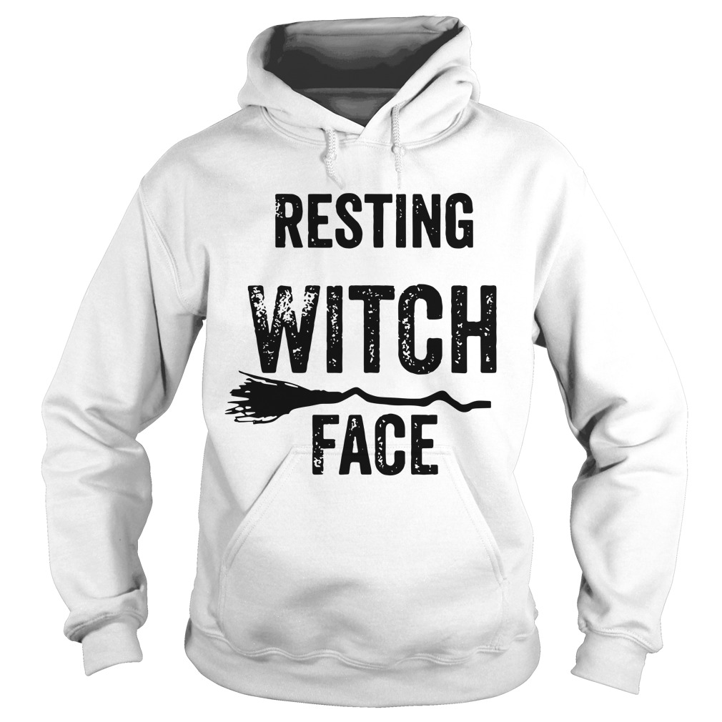 Resting Witch Face Halloween hoodie