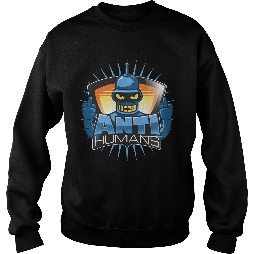 Rudebot Anti-humans sweater