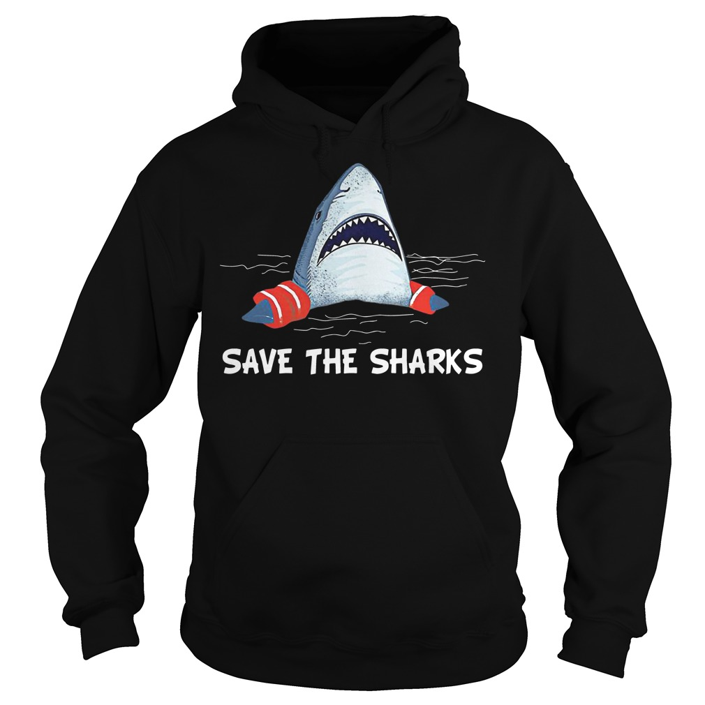 Save the sharks hoodie